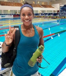 Alia Atkinson completes Independence Breaststroke Golden Double