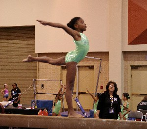 Local Miami Gymnastics Nya-Harris Middleton Secures 4 Medals at AAU Gymnastics Age Group National Championships