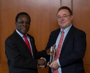 Grenada Prime Minister Dr. Keith Mitchell named Caribbean Finance Minister of the Year