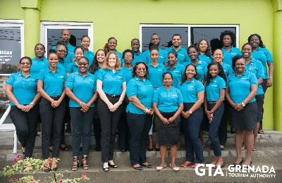 Grenada Tourism Authority Staff 2018.