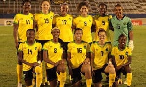 A Welcome Reception for Reggae Girlz at Fort Lauderdale Int'l Airport