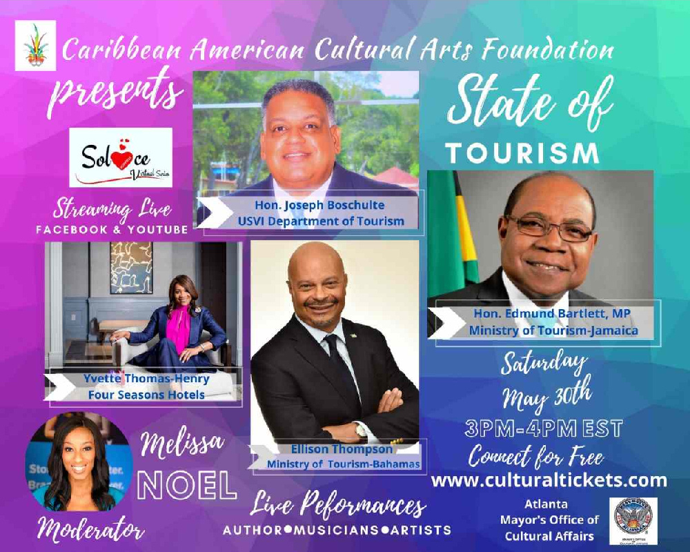 One Caribbean TV Journalist Melissa Noel Leads the State of Tourism Panel Discussion Hosted by CACAF