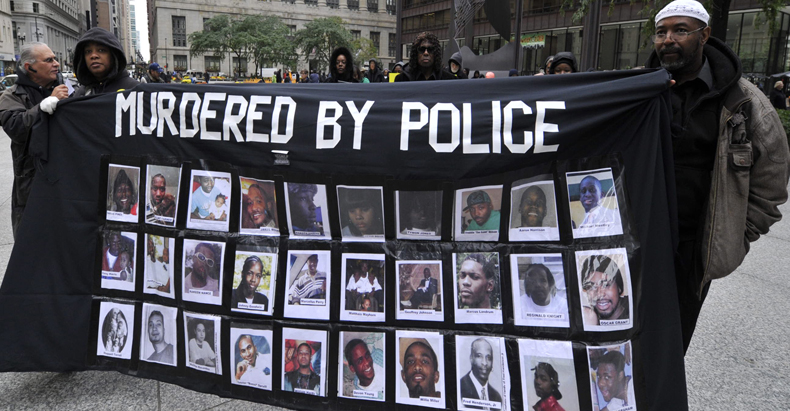 Racism Kills, Police Violence Must End
