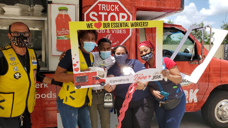 """GraceKennedy Foods USA Wraps Up""""With Love From Grace""""Food Truck Tour"""