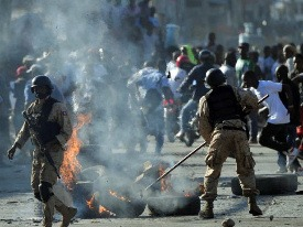 The U.S. Pushes Haiti on Elections, But Haitians Denied Elections With Riots