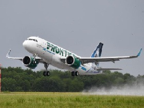 Frontier Airlines Set to Lift Off for St. Thomas from Orlando