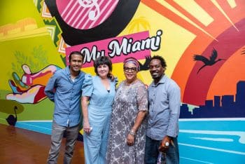 """""""This Is Miami"""" Mural Painted By Miami-Based Caribbean Artists Kicks Off Caribbean-American Heritage Month"""