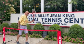 Bermuda gets special delivery from US Open